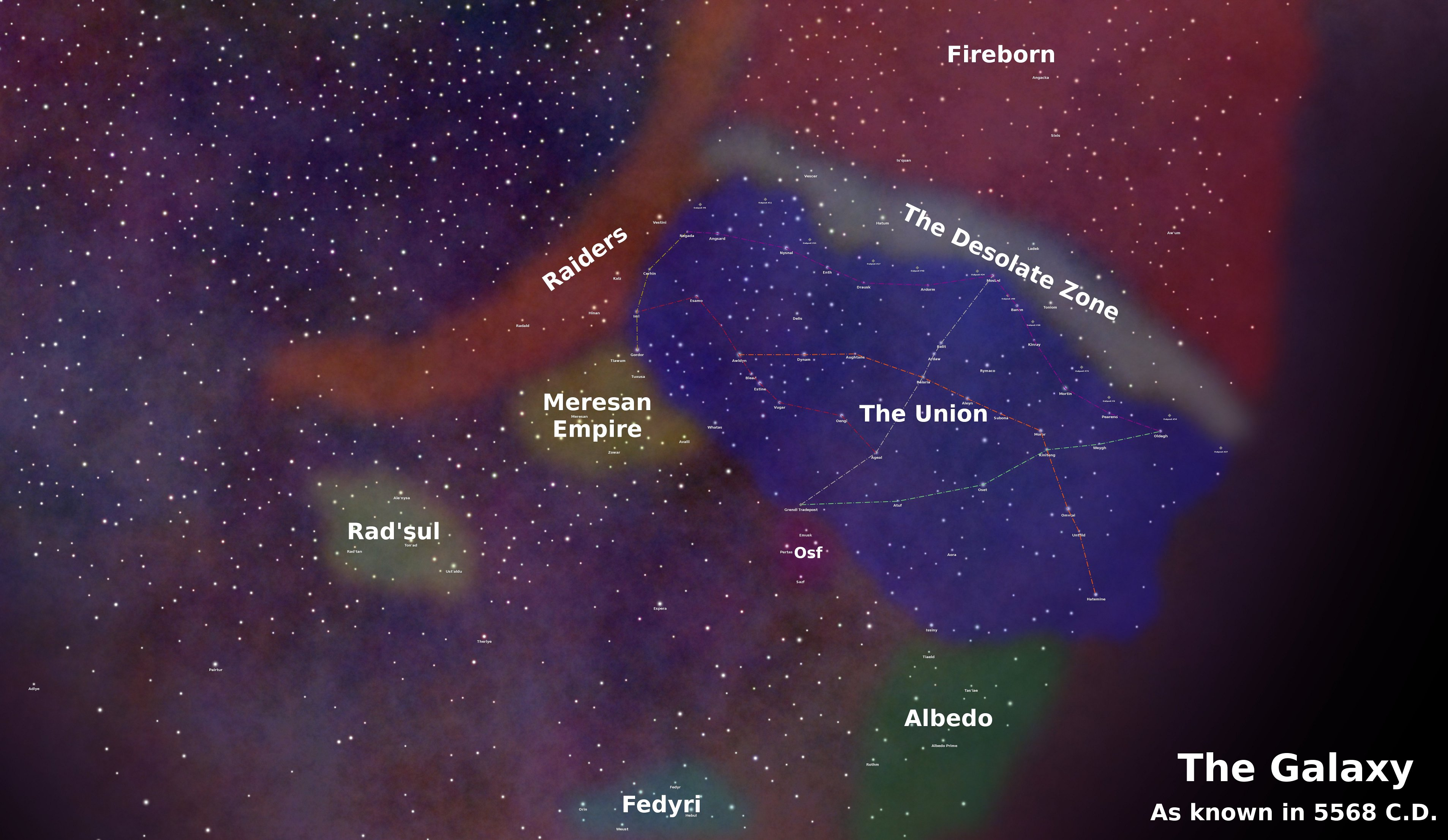 map of known galaxies - photo #24